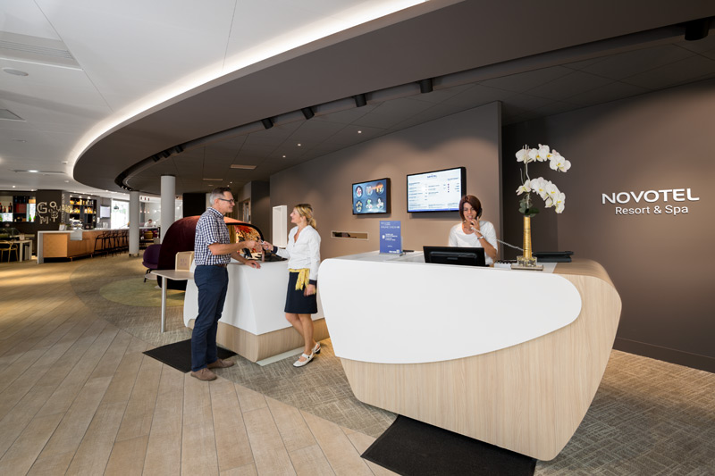 Le concept « Novotel Resort Spa & Fitness**** » Biarritz – Anglet – Pays Basque