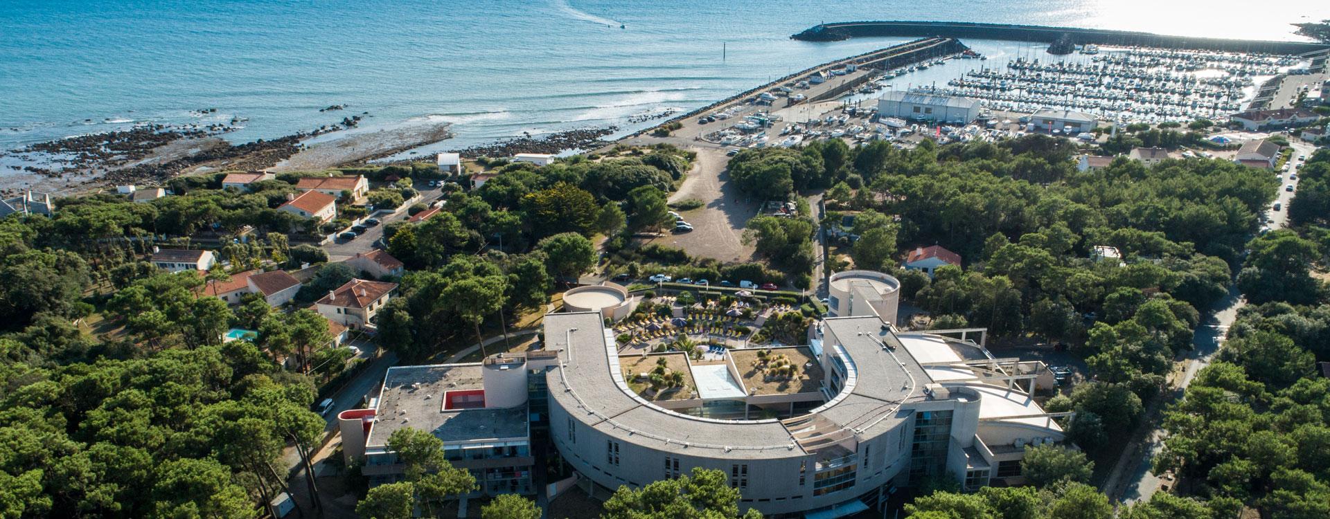 Ressourcez vos équipes au bord de l'océan en leur proposant un séjour à l'hôtel Les Jardins de l'Atlantique, Vacances Bleues Business