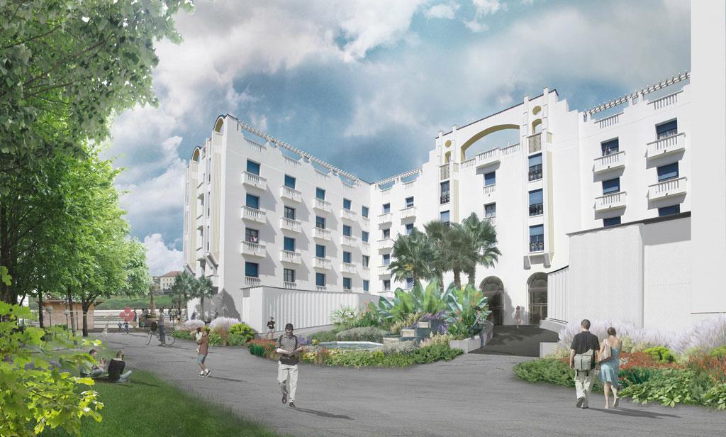 Epatez vos collaborateurs et organisez votre événement dans une ambiance élégante des années 30 à l'hôtel**** Vacances Bleues Business Le Splendid à Dax