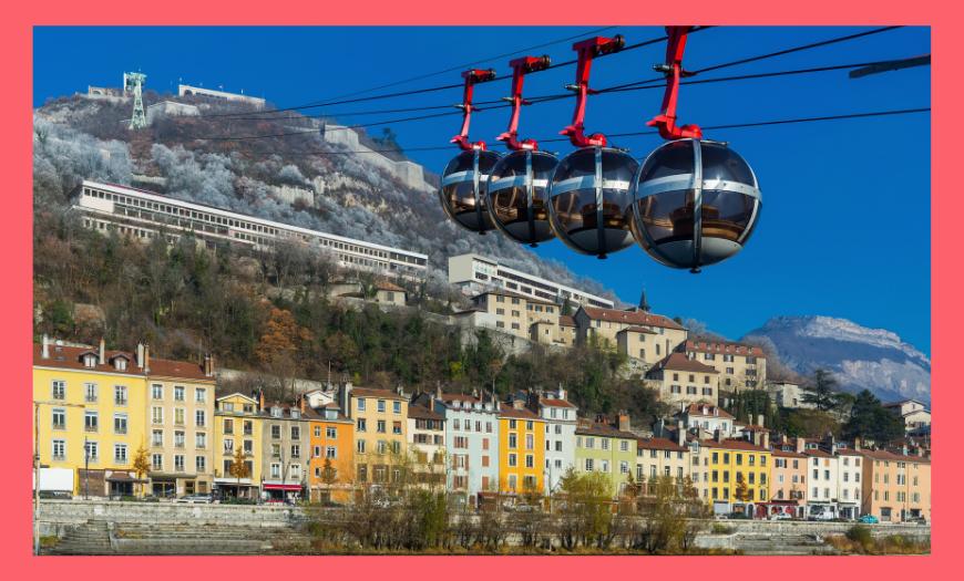 Grenoble, métropole des Alpes et de l'innovation
